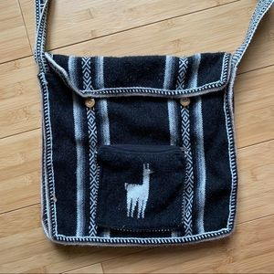 Handbags - 3/$20 Llama Hand Made Bag From Argentina
